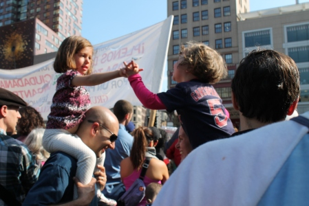 occupy wall street connections and youth