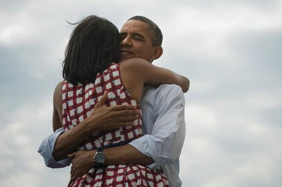 This image, posted to Obama's fan page shortly after his reelection, is now the most shared image on Facebook. This seems to exemplify the way that Facebook unifies the realm of the personal tie and the political tie.