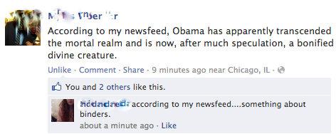facebook screen cap 2012 elections
