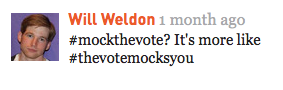 meta-mock the vote